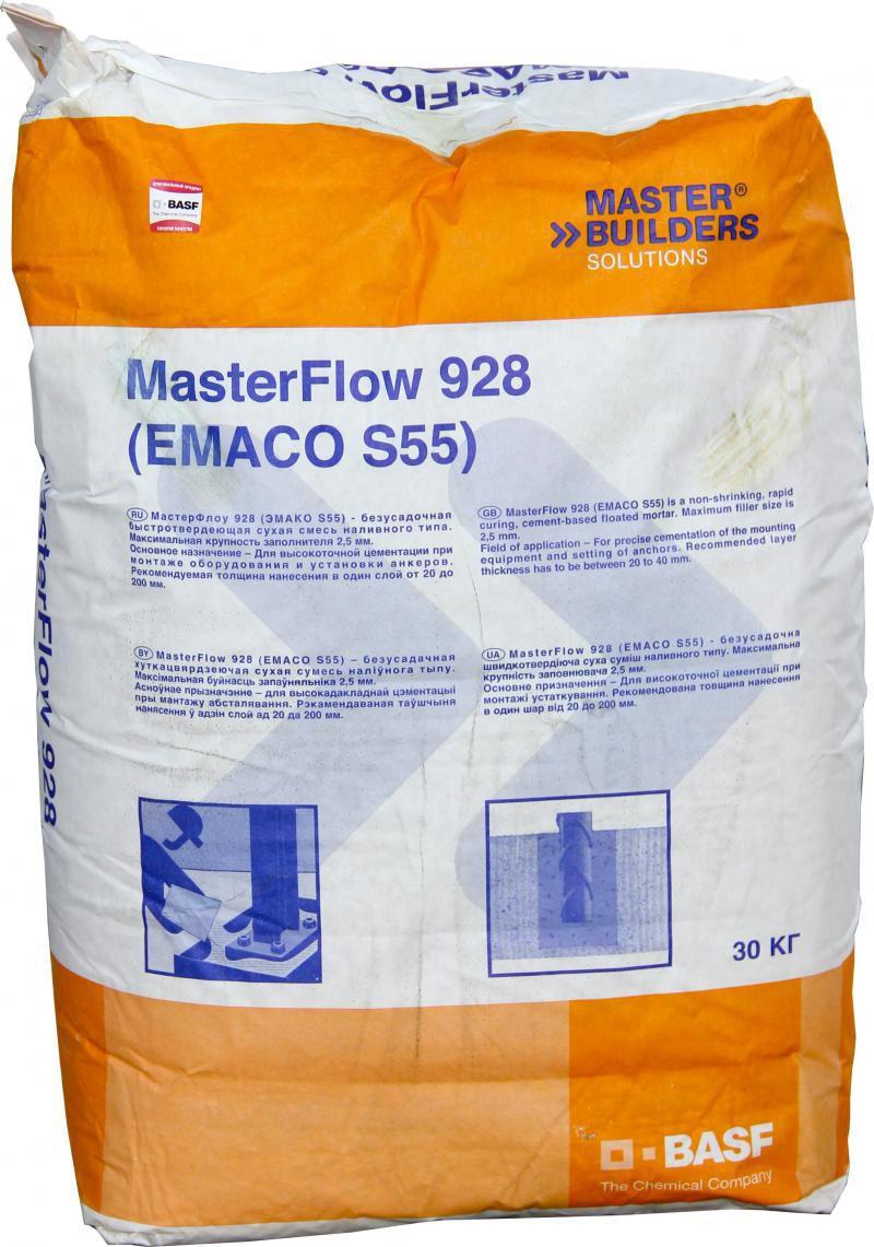 Бетонная смесь emaco s55 бетон м300 с доставкой москва